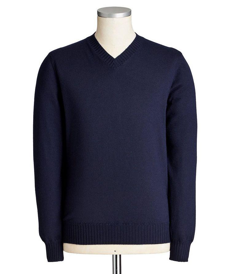 Duvet Cashmere V-Neck Sweater image 0