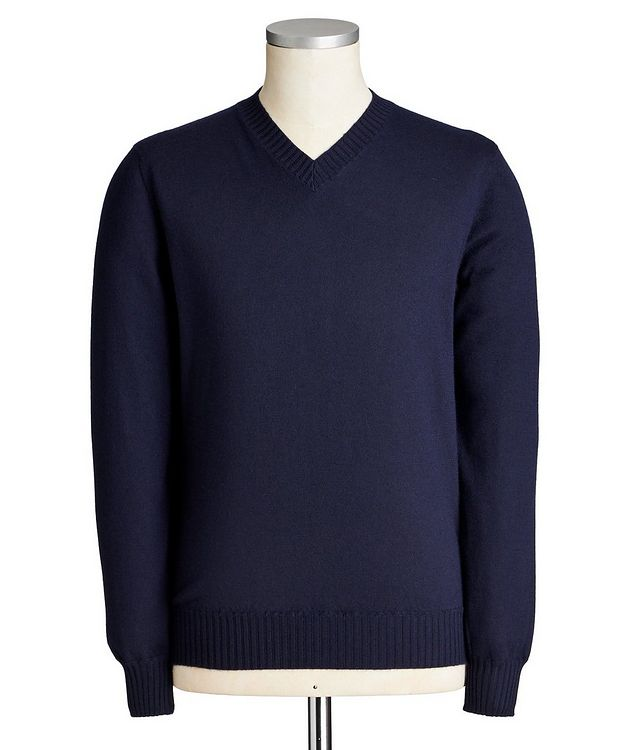 Duvet Cashmere V-Neck Sweater picture 1