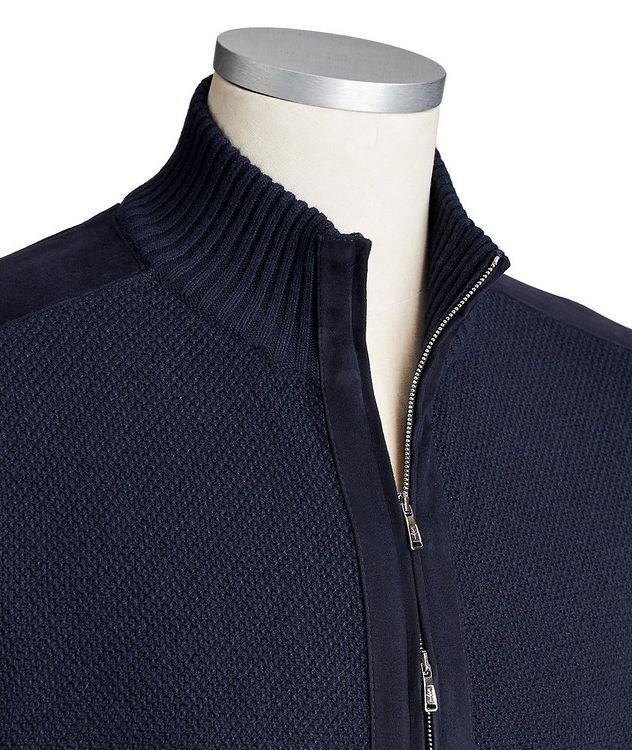 Zip-Up Cashmere Cardigan picture 2