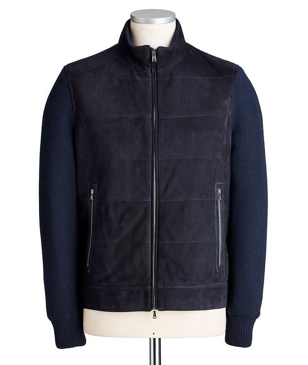 Suede & Wool-Cashmere Swacket picture 1
