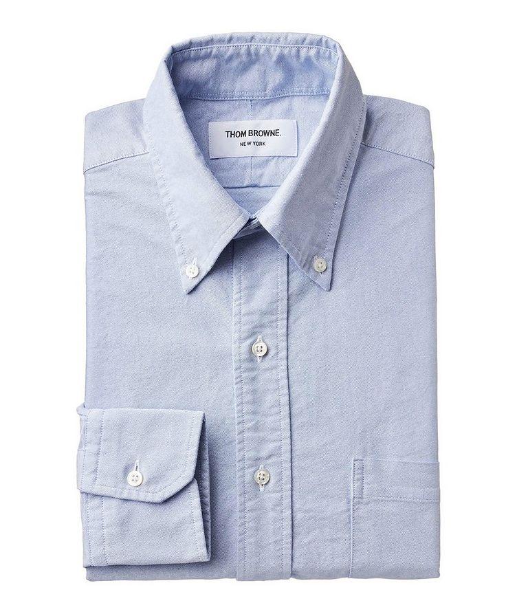 Grosgrain-Trimmed Cotton Shirt image 0
