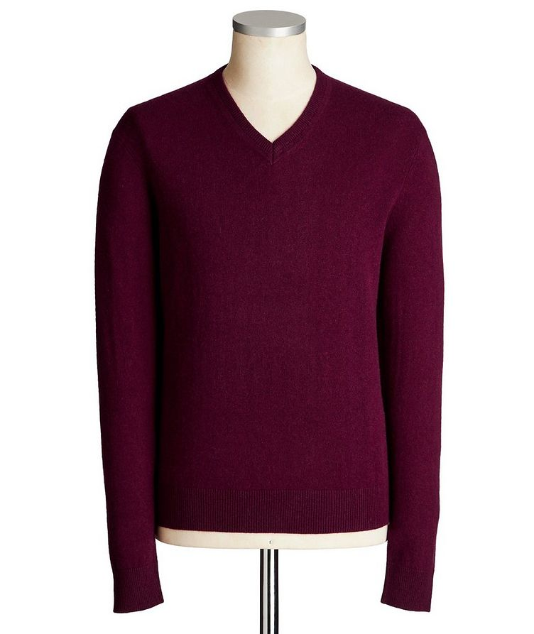 V-Neck Cashmere Sweater image 0