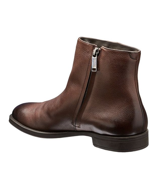 Coventry Shearling-Lined Leather Ankle Boots picture 2