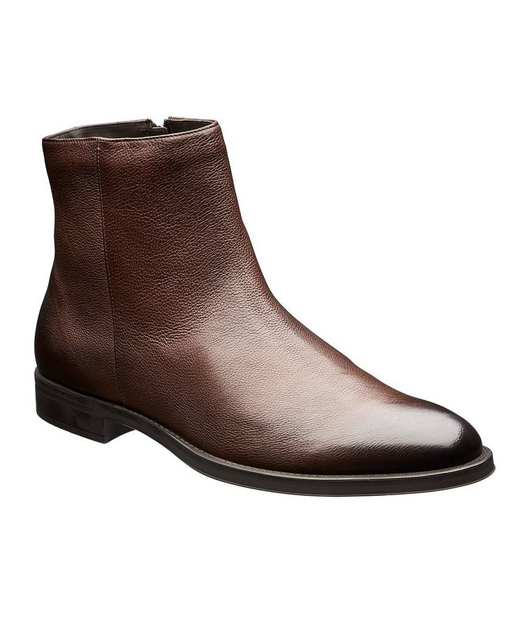 Coventry Shearling-Lined Leather Ankle Boots image 0