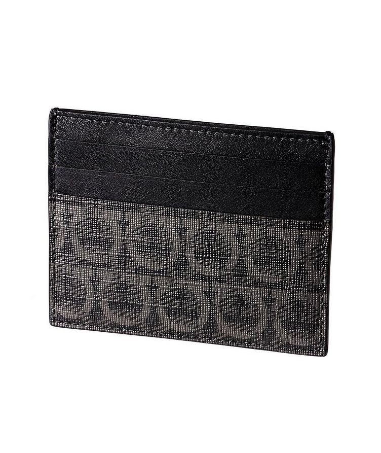Printed Leather Cardholder image 1