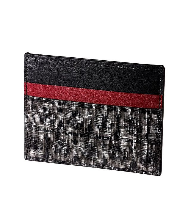 Printed Leather Cardholder picture 1