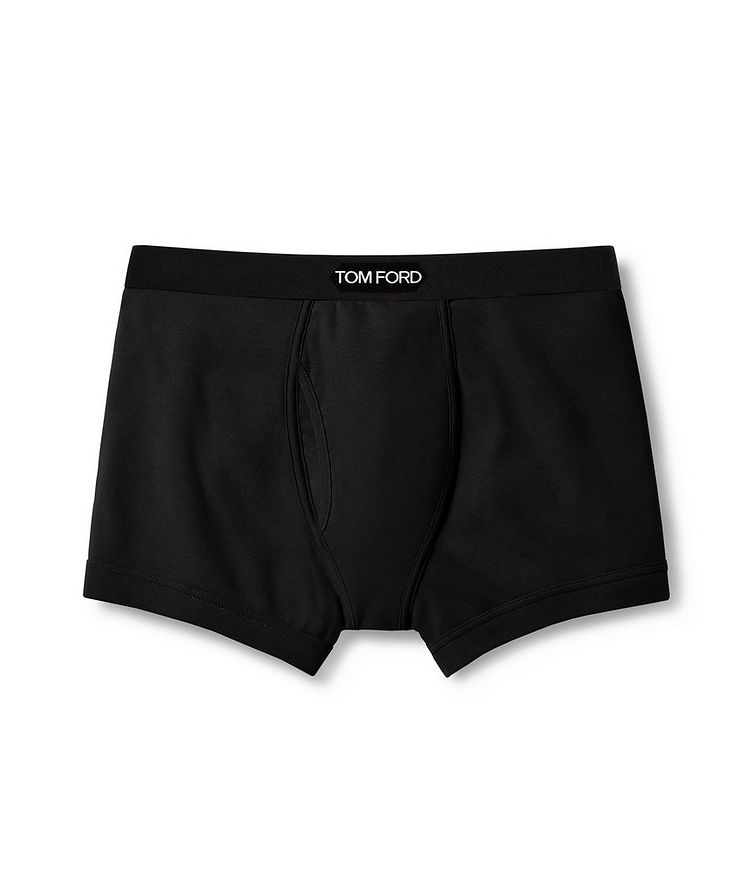 Stretch Cotton Boxer Briefs image 0