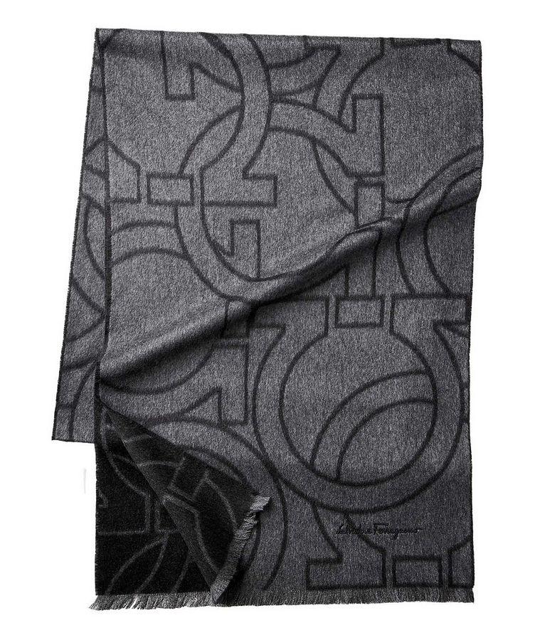 Printed Silk Scarf image 0