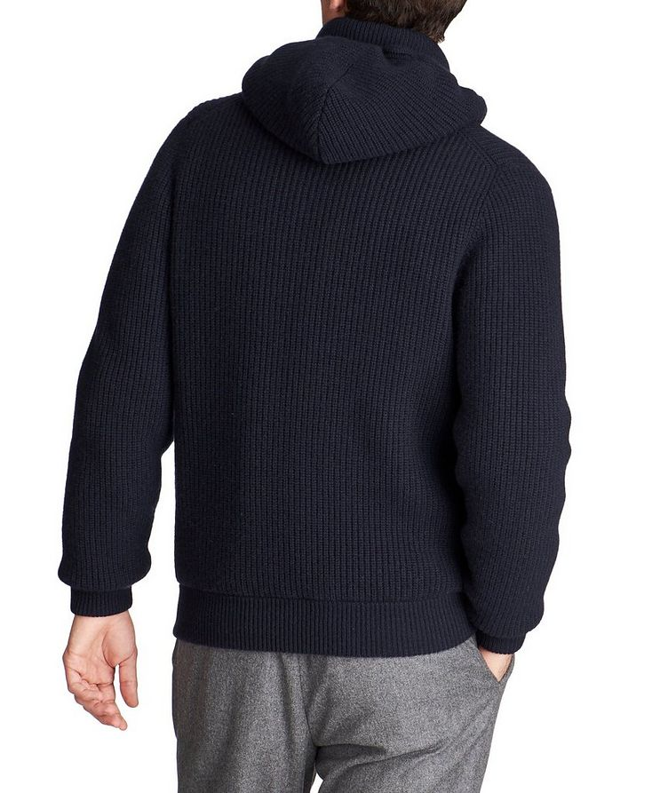 Knit Cashmere Down Swacket image 1