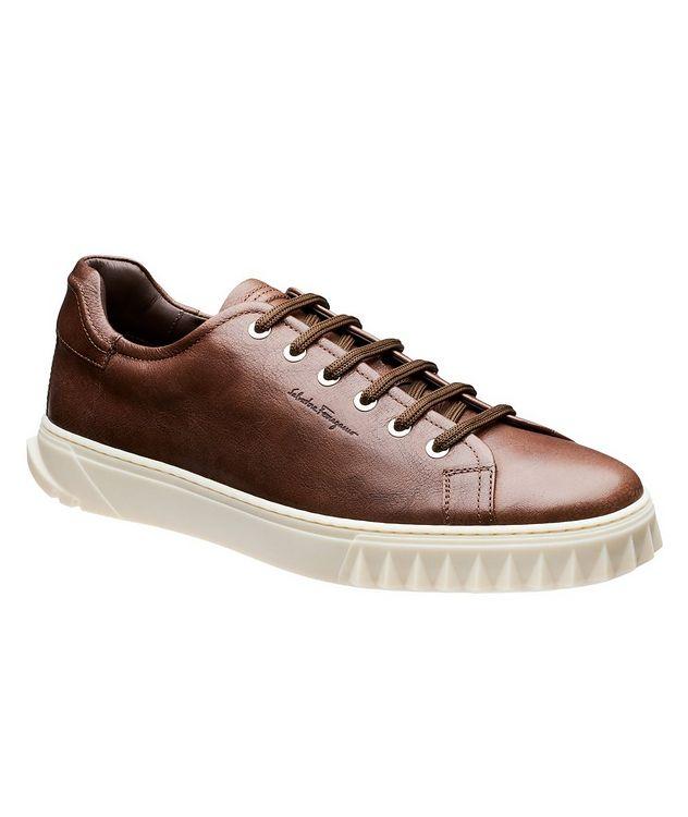 Chaussure sport en cuir picture 1