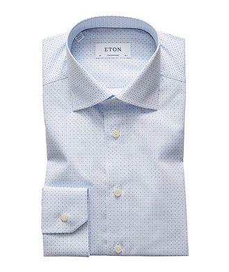 Eton Contemporary Fit Neat-Printed Dress Shirt