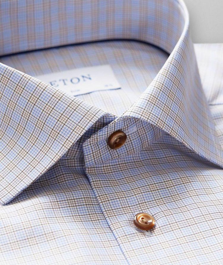 Chemise habillée quadrillée de coupe contemporaine image 1