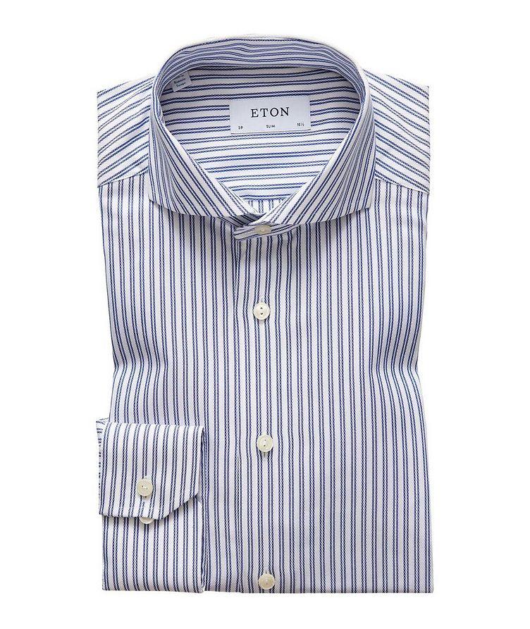 Slim Fit Cotton-Lyocell Dress Shirt image 0
