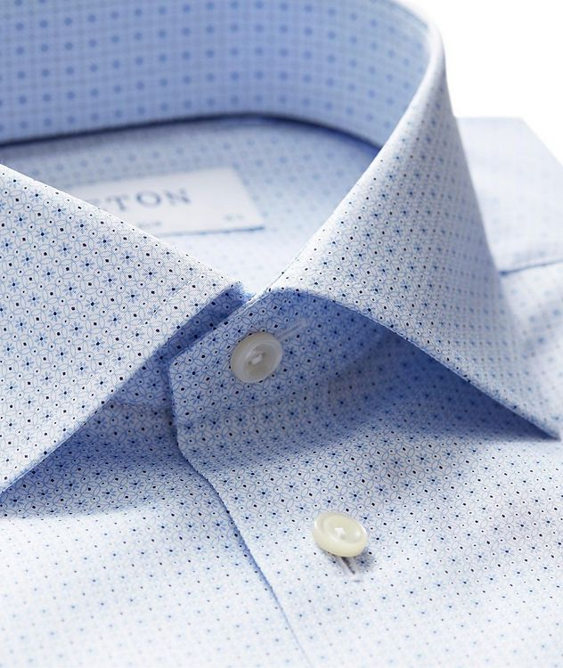 Slim Fit Neat-Printed Dress Shirt picture 2