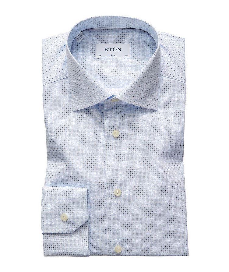 Slim Fit Neat-Printed Dress Shirt image 0