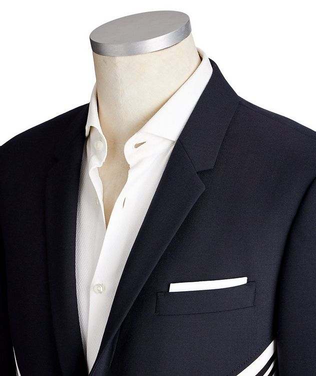 Slim Fit Wool-Blend Sports Jacket picture 2