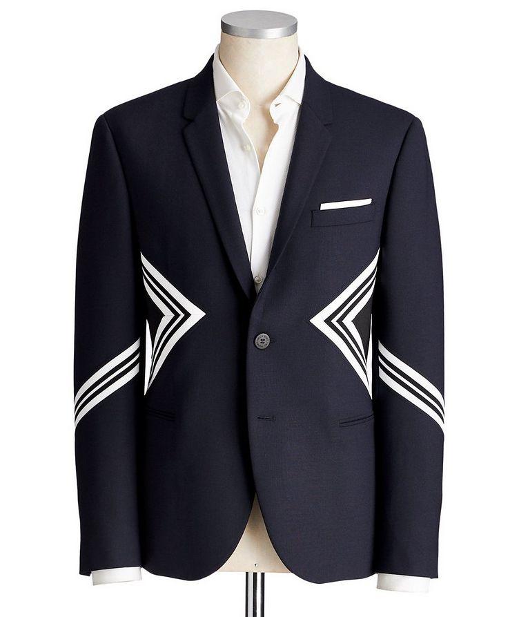 Slim Fit Wool-Blend Sports Jacket image 0
