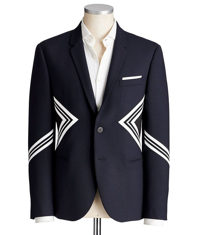 Slim Fit Wool-Blend Sports Jacket picture 1