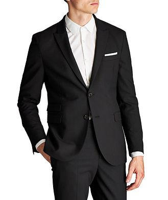 Neil Barrett Slim Fit Stretch-Virgin Wool Sports Jacket