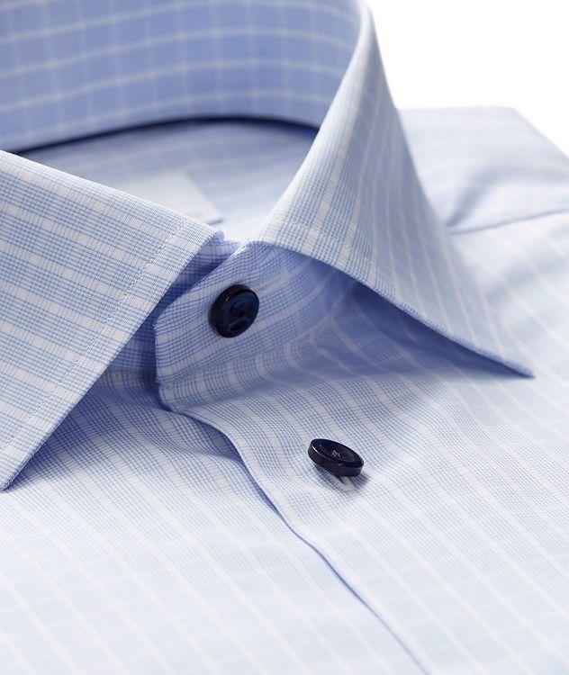 Chemise habillée quadrillée de coupe amincie picture 2