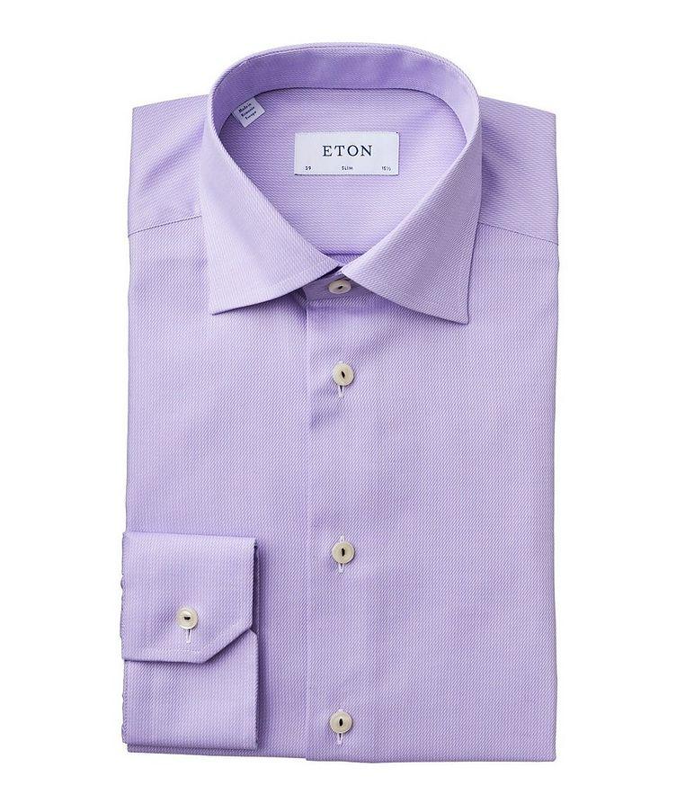 Slim Fit Broken Twill Dress Shirt image 0