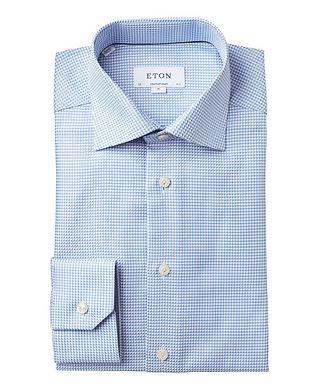 Eton Chemise habillée imprimée de coupe contemporaine