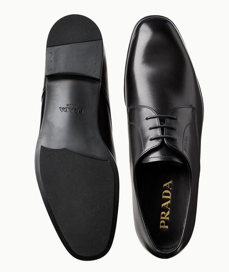 Chaussure lacée en cuir nappa image 2