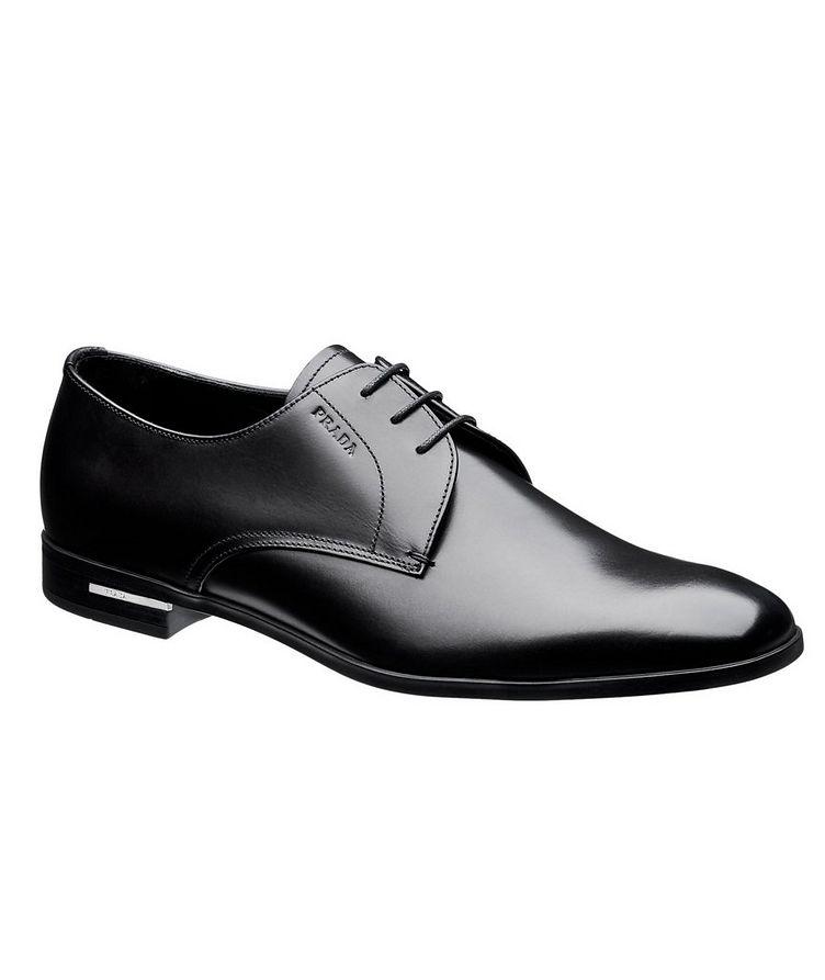 Chaussure lacée en cuir nappa image 0