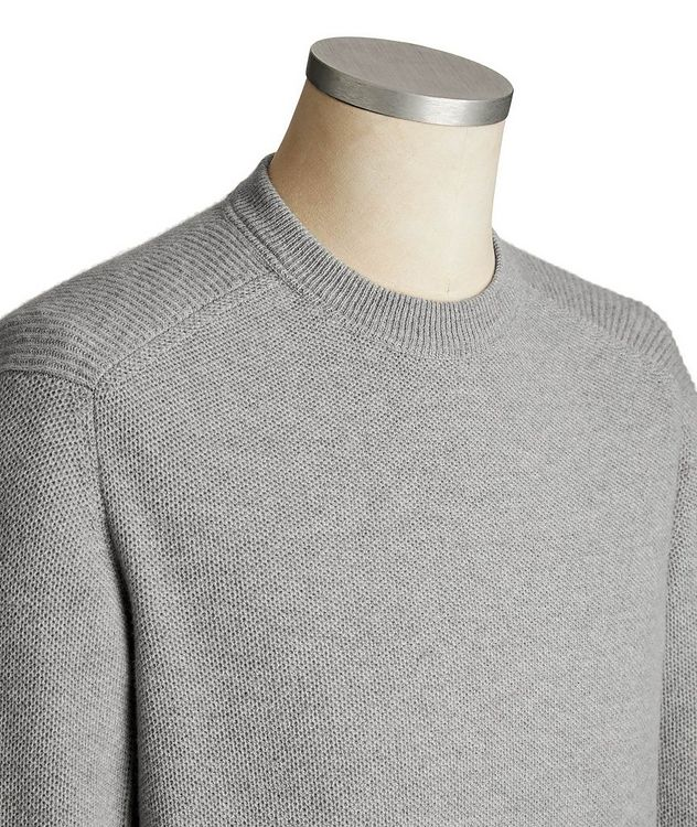 Wool-Cashmere Knit Sweater picture 3