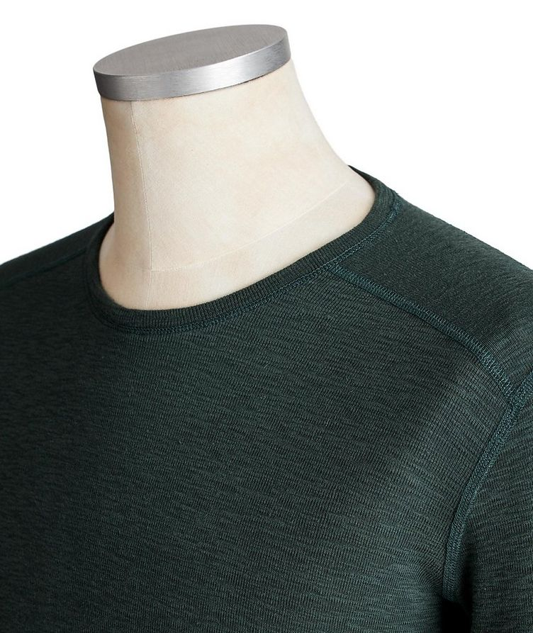 Long-Sleeve Burnout T-Shirt image 1