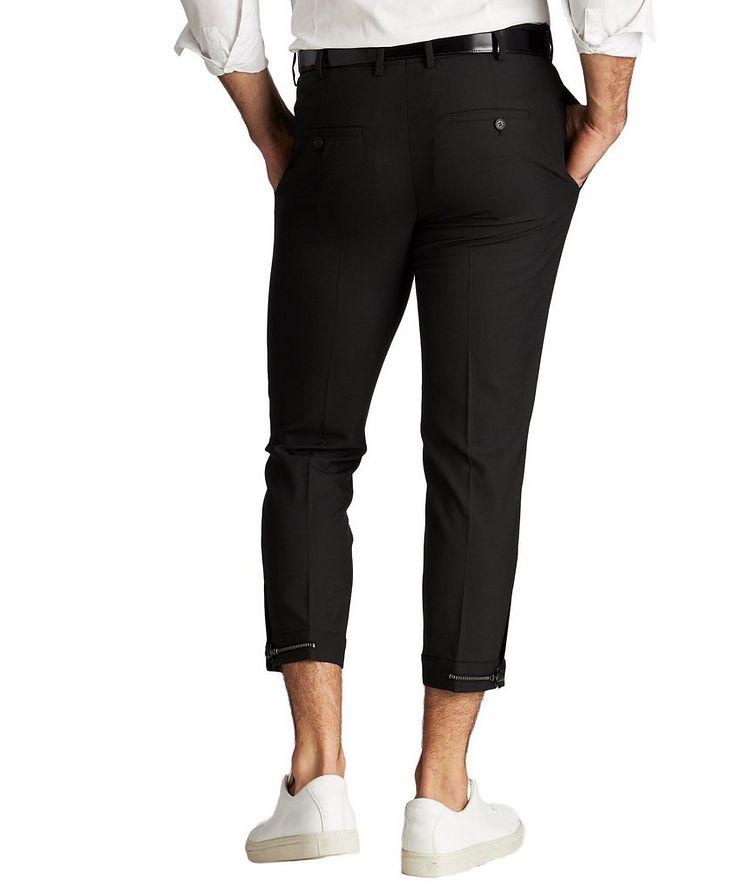 Zipper Cuff Dress Pants image 1