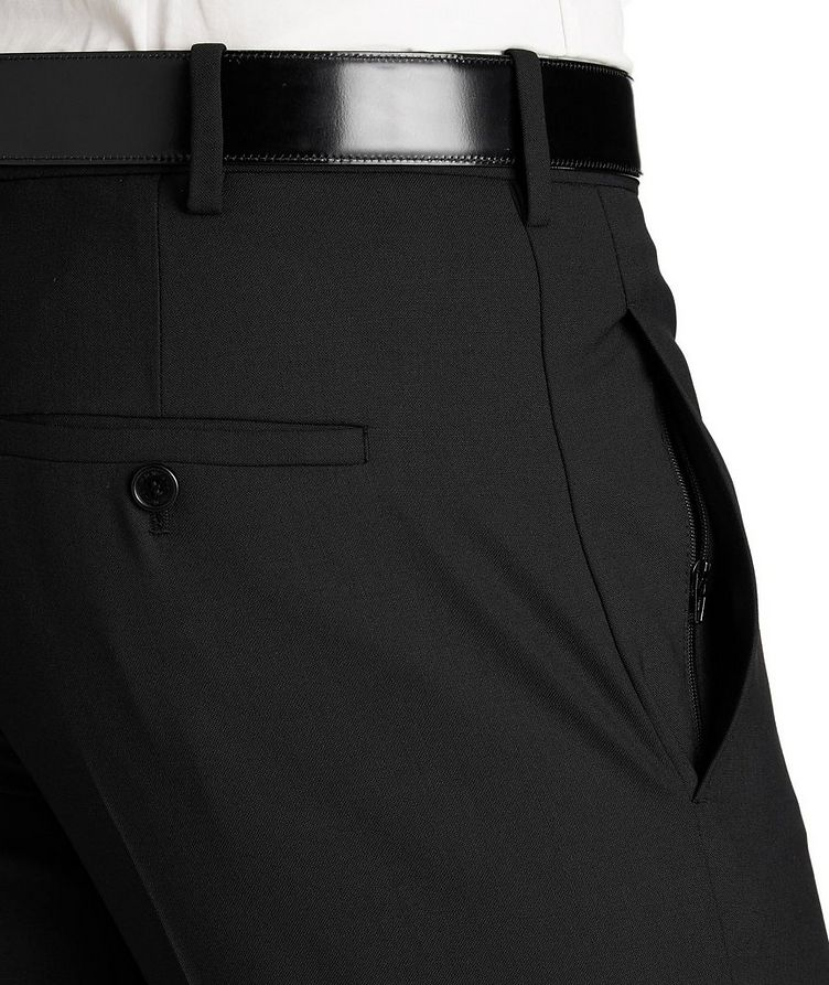 Zipper Cuff Dress Pants image 2