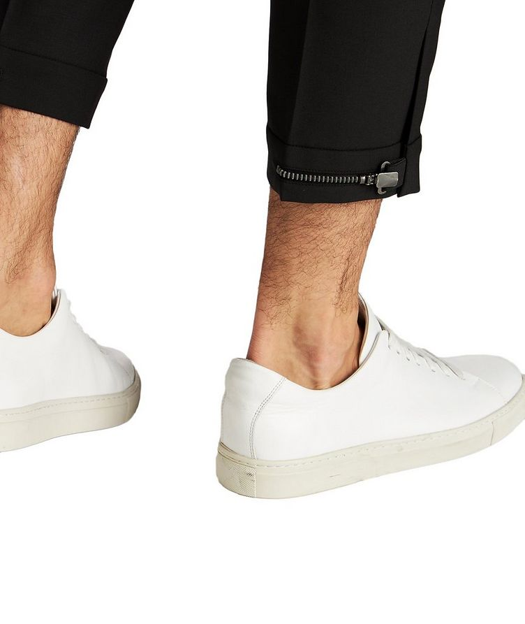 Zipper Cuff Dress Pants image 3