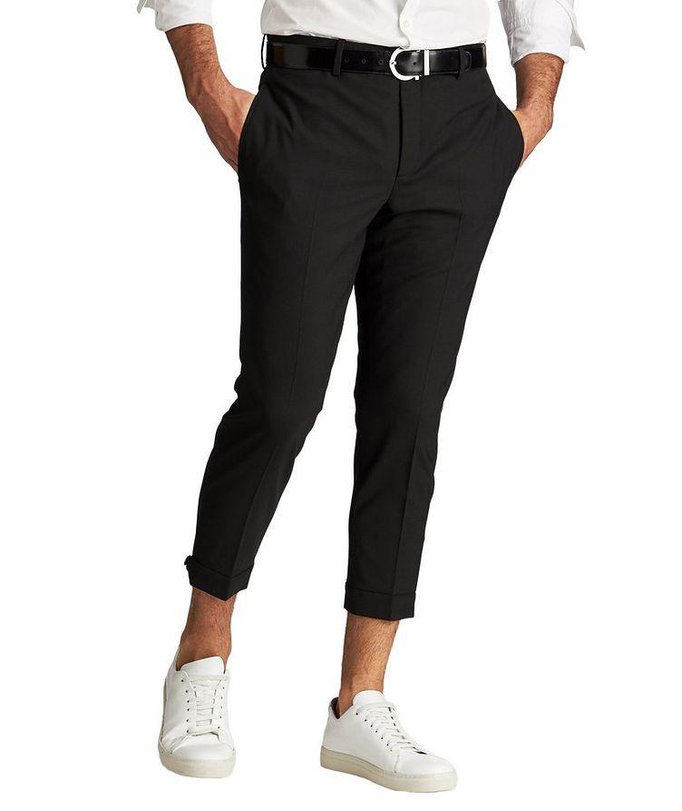 Zipper Cuff Dress Pants image 0