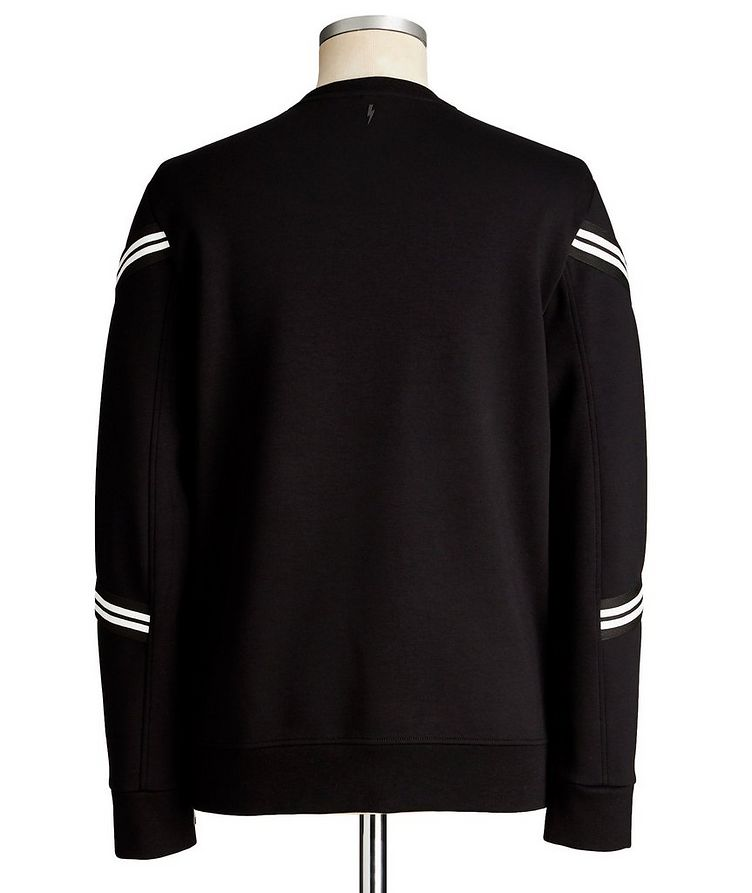 Side-Zip Scuba Sweatshirt image 1