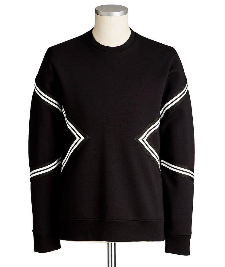 Side-Zip Scuba Sweatshirt image 0