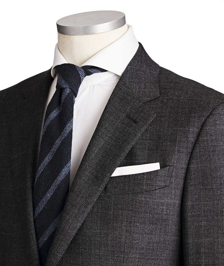Milano Easy Wool-Cashmere Suit image 1