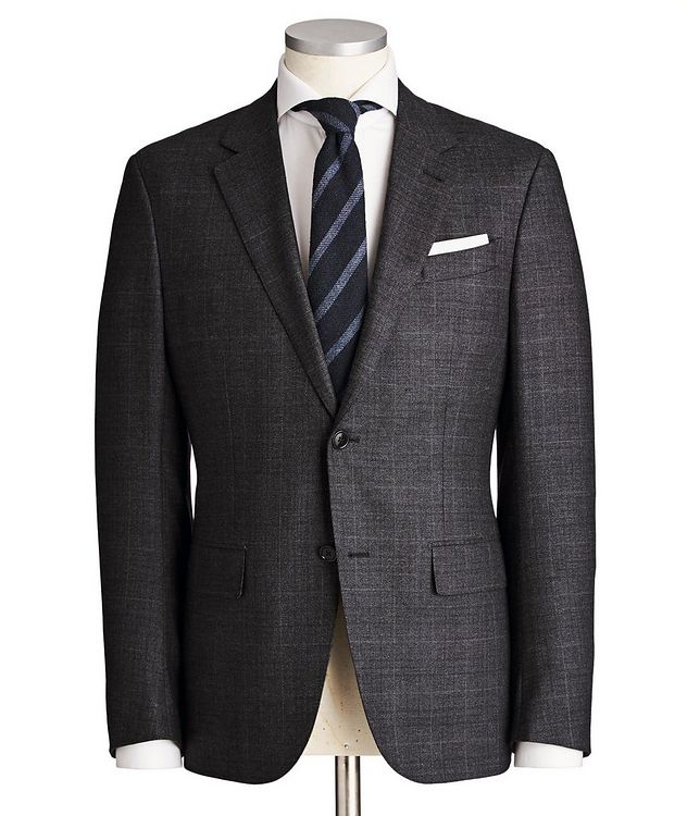 Milano Easy Wool-Cashmere Suit picture 1