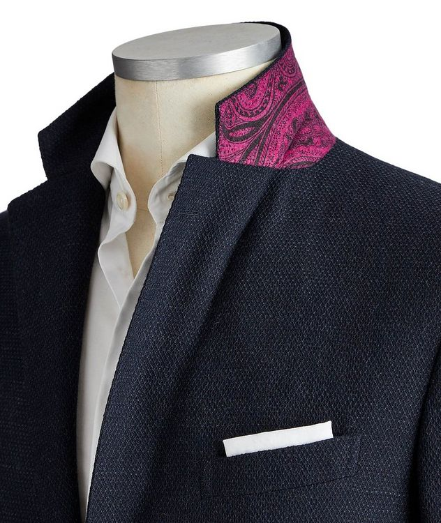 Silk-Lined Wool Sports Jacket picture 2
