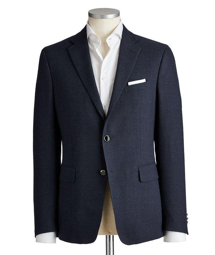 Silk-Lined Wool Sports Jacket image 0