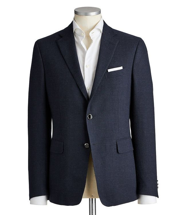 Silk-Lined Wool Sports Jacket picture 1