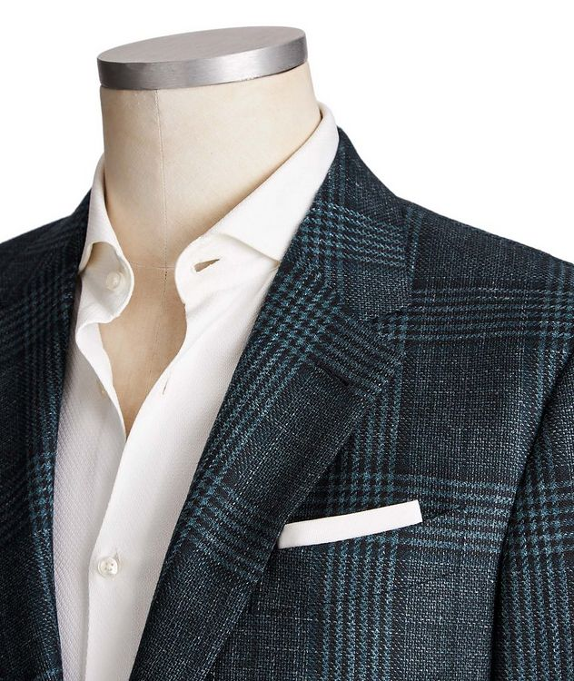 Milano Easy Wool, Cashmere, Silk & Linen Sports Jacket picture 2