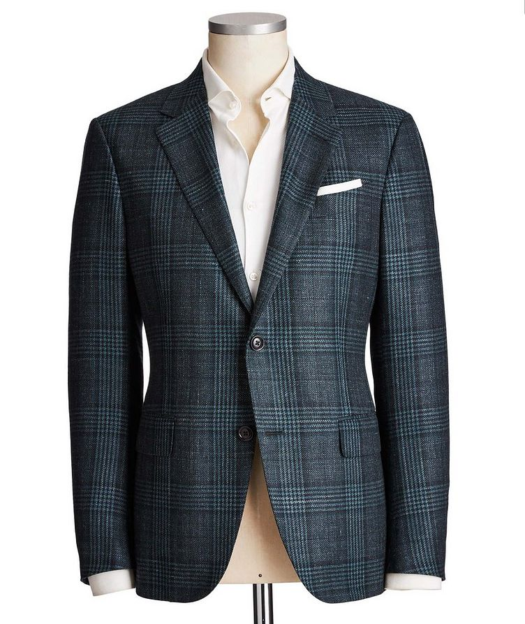 Milano Easy Wool, Cashmere, Silk & Linen Sports Jacket image 0