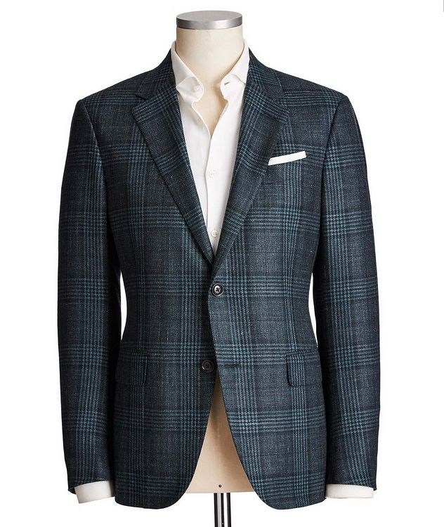 Milano Easy Wool, Cashmere, Silk & Linen Sports Jacket picture 1
