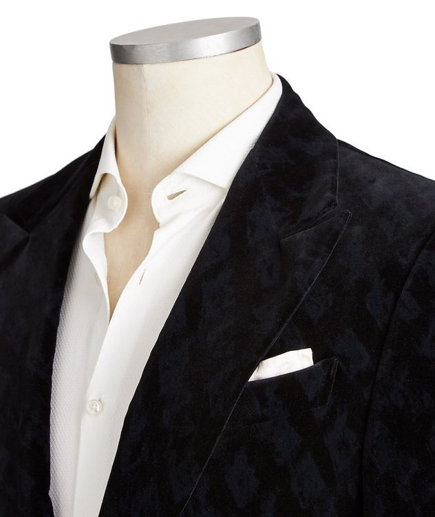 Venezia Velvet Tuxedo Jacket picture 2