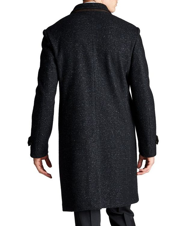 Wool, Cashmere & Silk Overcoat picture 2