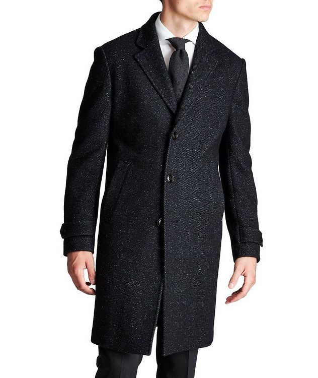Wool, Cashmere & Silk Overcoat picture 1