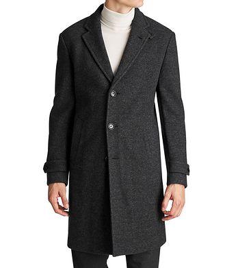 Ermenegildo Zegna Wool-Cashmere Overcoat