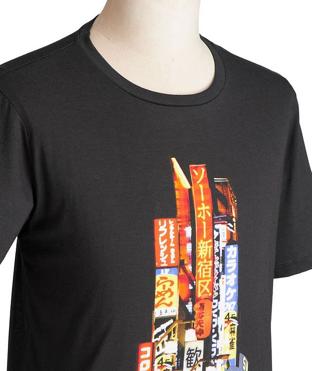 Printed Cotton-Blend T-Shirt picture 2