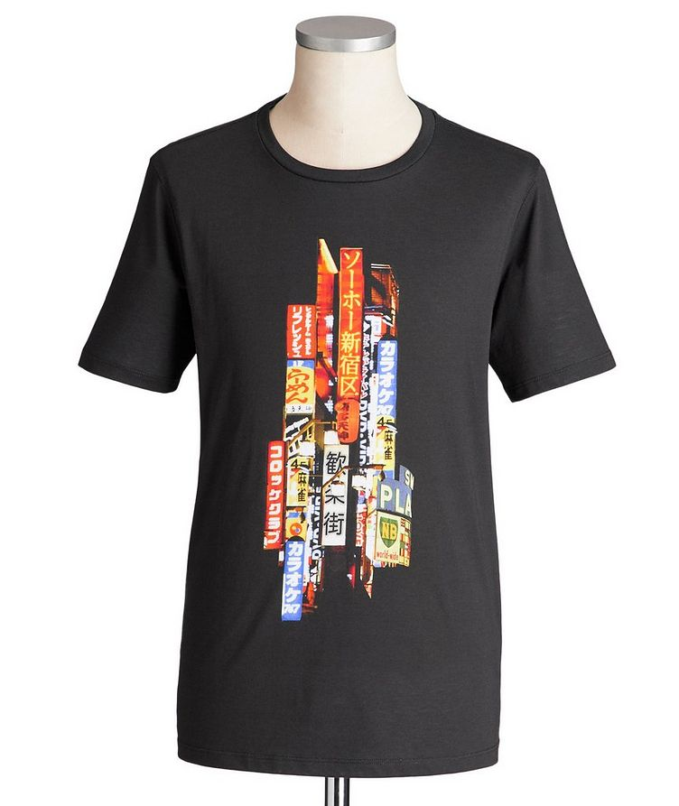 Printed Cotton-Blend T-Shirt image 0